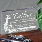 Lighting The Way Personalized Father Keepsake