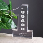 Personalized Number One Coach Personalized Keepsake