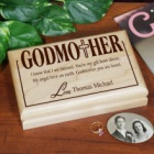 Personalized Godmother Valet Box