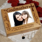Personalized Godmother Photo Keepsake Box