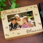 Grandma's Photo Memories Personalized Keepsake Box