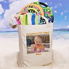 Personalized Photo Tote Bags for Grandma