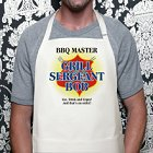 Grill Sergeant Personalized BBQ Apron