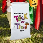 Personalized Halloween Trick or Treat Sacks