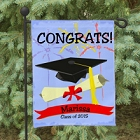 Class of 2015 Congrats Personalized Graduation Garden Flags