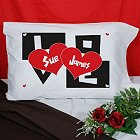 Personalized Love Pillowcase