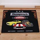 Dad's Garage Personalized Doormats