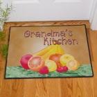 Grandma's Kitchen Personalized Kitchen Doormats