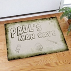 Personalized Man Cave Door Mats