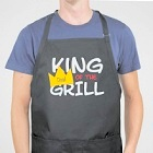 King Of The Grill Personalized BBQ Apron