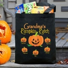 Pumpkin Patch Personalized Halloween Totebags