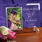 Take Pride Class of 2015 Graduation Beveled Glass Picture Frames