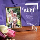 My Aunt Beveled Glass Personalized Picture Frames