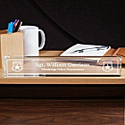 Personalized Police Department Desk Nameplate