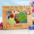 Look at Me Laser Engraved Birthday Picture Frame