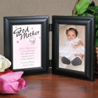 Count My Blessings Godmother Bi-Fold Frame