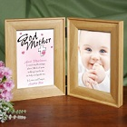 Count My Blessings Personalized Godparent Picture Frames