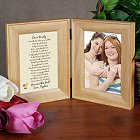 To My Sister Personalized Bi-Fold Picture Frames