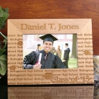 Class of 2015 My Graduation Personalized Wooden Picture Frames