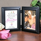 Personalized Grandma Bi-Fold Picture Frames