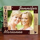 Personalized 8 x 10 Sisters Wooden Picture Frames
