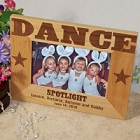 Wood Dance Personalized Girls Picture Frames