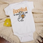 Bootiful Ghost Personalized Halloween Infant Onesies
