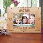 All Our Hearts Personalized Mothers Day Picture Frames
