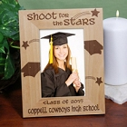 Shoot For The Stars Class of 2015 Engraved Graduation Frames