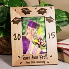 Personalized Dream Class of 2015 Wood Graduation Picture Frames