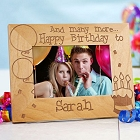 And Many More Personalized Birthday Picture Frames