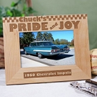 Pride & Joy Personalized Hot Rod Wood Picture Frames