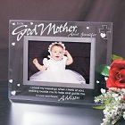 To My Godparent Glass Picture Frames