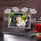 Class Of 2015 Engraved Graduation Glass Picture Frames