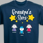 Any Title Stars Personalized T-Shirt