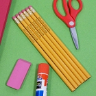 Personalized Yellow Pencils - Set of 12