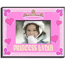 Princess Personalized Picture Frame