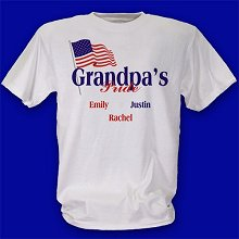 USA American Pride Personalized Patriotic T-Shirts