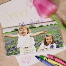 Personalized Photo Checkbook Cover