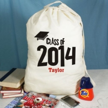 Class of 2015 Personalized Graduation Laundry Bags