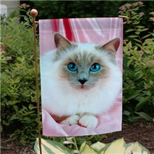 Personalized Photo Garden Flag