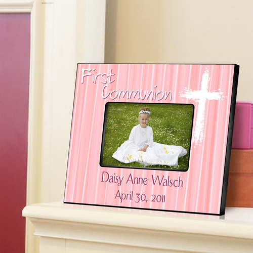 The Light of God Personalized First Communion Picture Frames