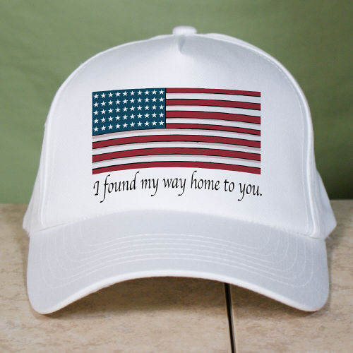 American Flag Personalized Patriotic Hats