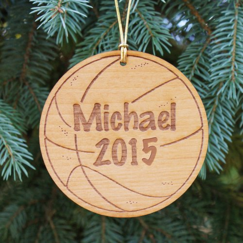 Personalized Basketball Christmas Ornaments