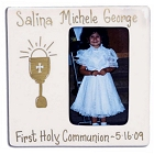 Hand Painted First Holy Communion Ceramic Picture Frames