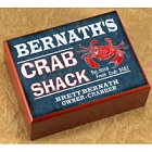 Personalized Crab Shack Cigar Humidor