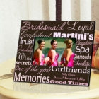 Personalized Bridesmaid Picture Frames