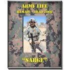 Personalized Vertical Military Camouflage Picture Frames