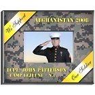 Personalized Military Yellow Ribbon Camouflage Frames
