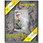 Personalized Military Yellow Ribbon Vertical Camouflage Frames